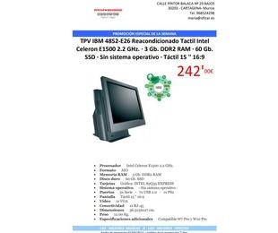 Promoción: TPV IBM 4852-E26 Reacondicionado a 242€