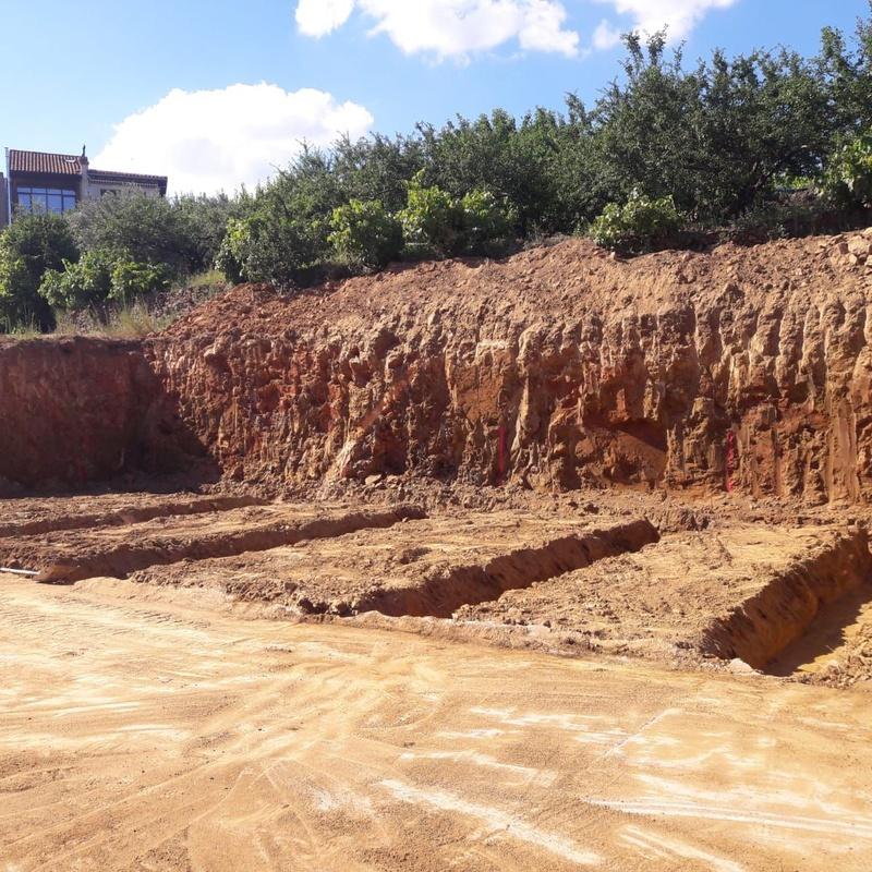 Excavaciones en distintos tipos de terreno