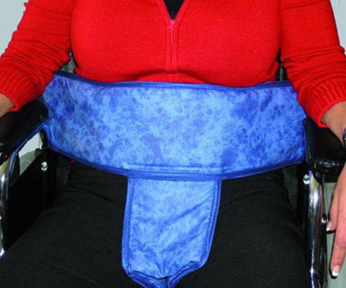 Cinturón abdominal y perineal para silla de ruedas Gijón