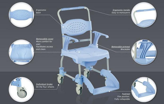 Silla de Baño Moem: Productos y servicios de Ortopedia Delgado, S. L.