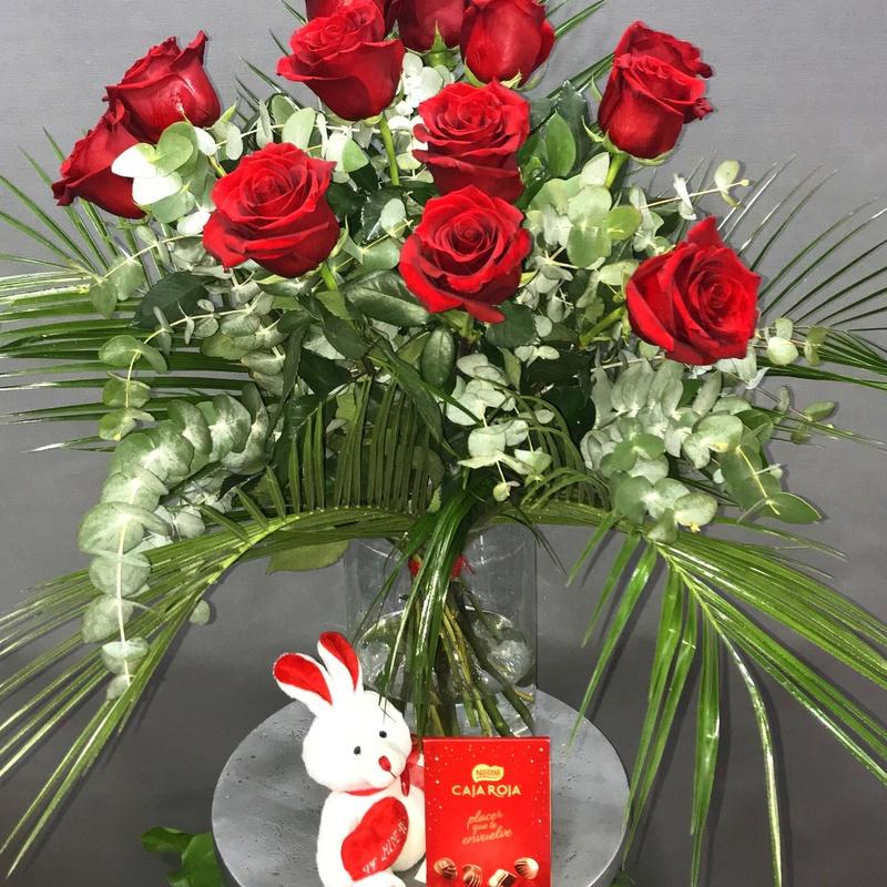 12 rosas rojas : Productos de Flores Madrid