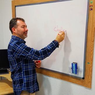 Jorge: Profesor de Inglés, Francés y Lengua de E.S.O y Bachillerato.