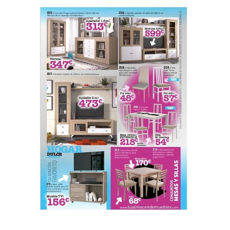 Catálogo de ofertas de muebles: Productos  de MONSOFA