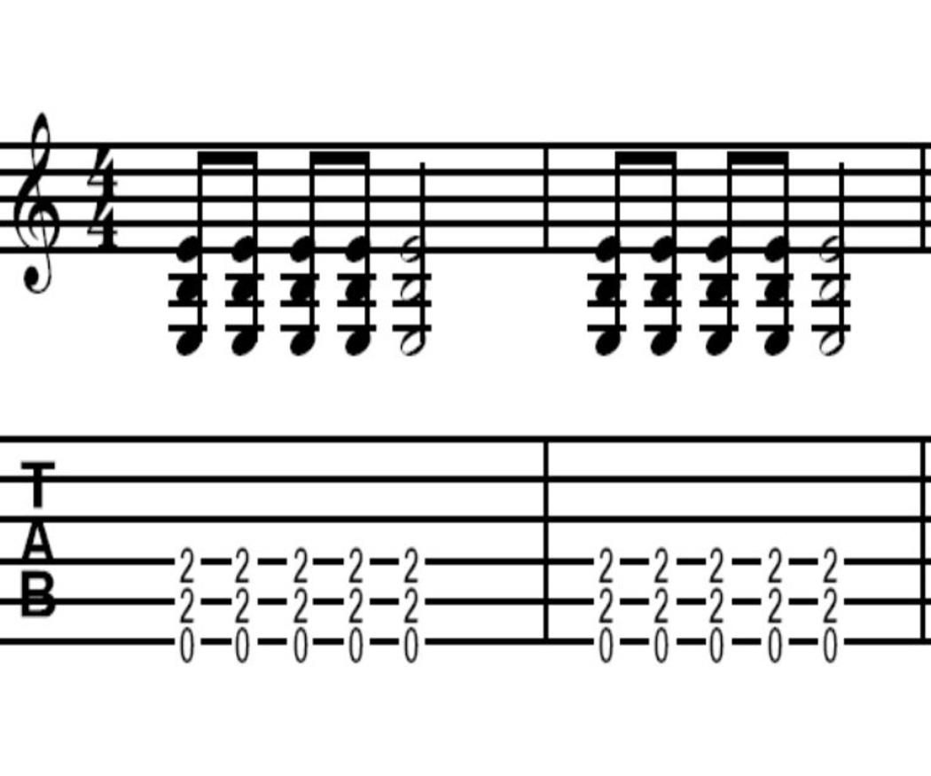 Los power chords como herramientas para construir tus riffs