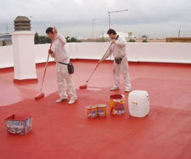 Cubiertas de terrazas en Vitoria