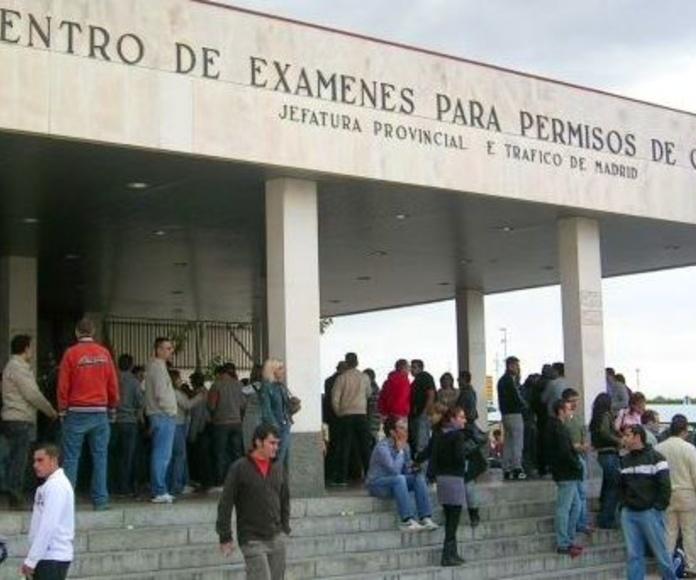Centro de examenes de la DGT