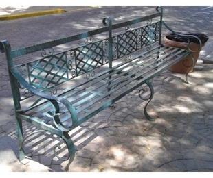 Muebles de forja: conjunto  terraza y jardín en forja