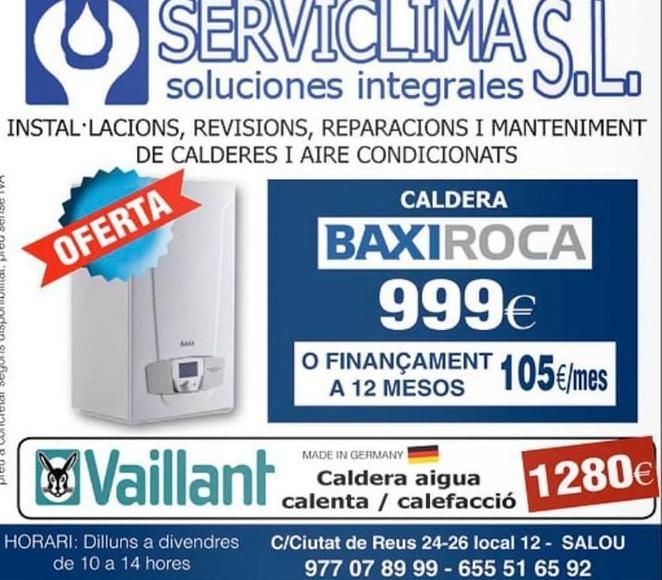 Empresa de climatización en Salou