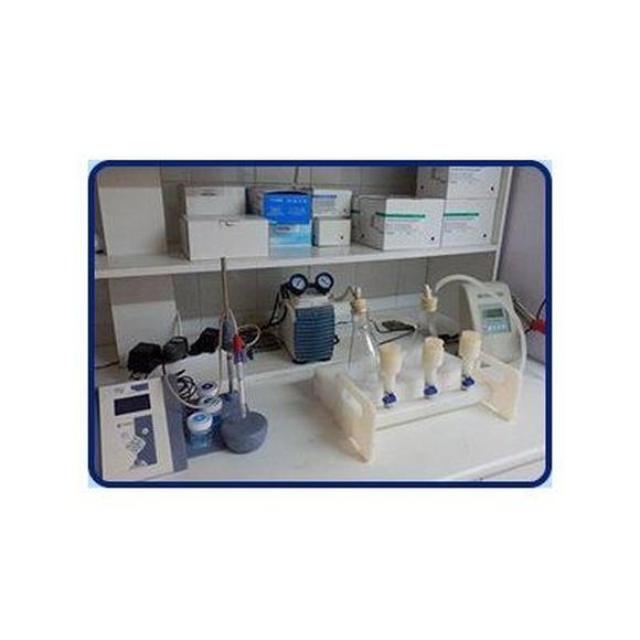 Análisis de aguas: Farmacia y laboratorio de Farmacia y Laboratorio clínico Joaquín Blanco y Ana Albalat
