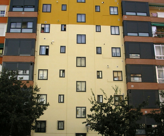 Sistema de aislamiento térmico por el exterior: Servicios  de Reicom Madrid