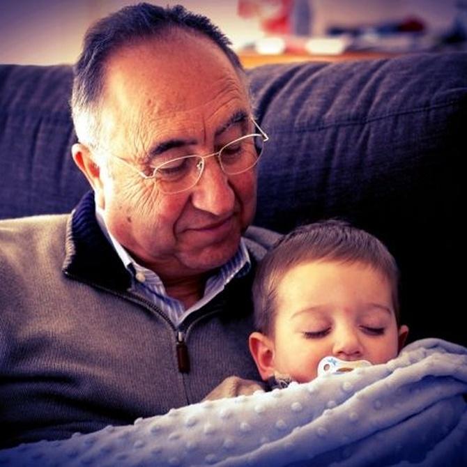 ¿Cómo explicar a los niños que su abuelo tiene Alzheimer?