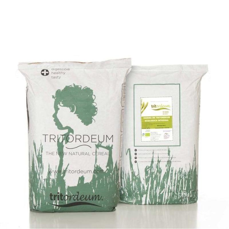 Harina de tritordeum ecológica integral 25 kg: Productos de Coperblanc Zamorana
