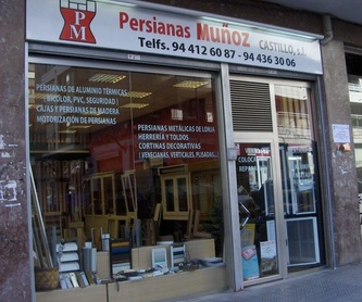Estores plegables: Productos y servicios de Persianas Muñoz Castillo, S. L.