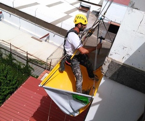 Trabajos verticales en Las Palmas