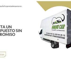 Alquiler furgonetas Las Palmas de Gran Canaria | Darque Car