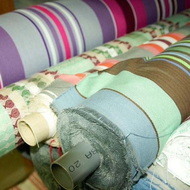 Lonas y tejidos: Productos de Toldos García Colombia