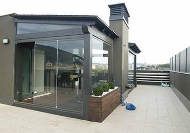 Limpieza de terrazas acristaladas