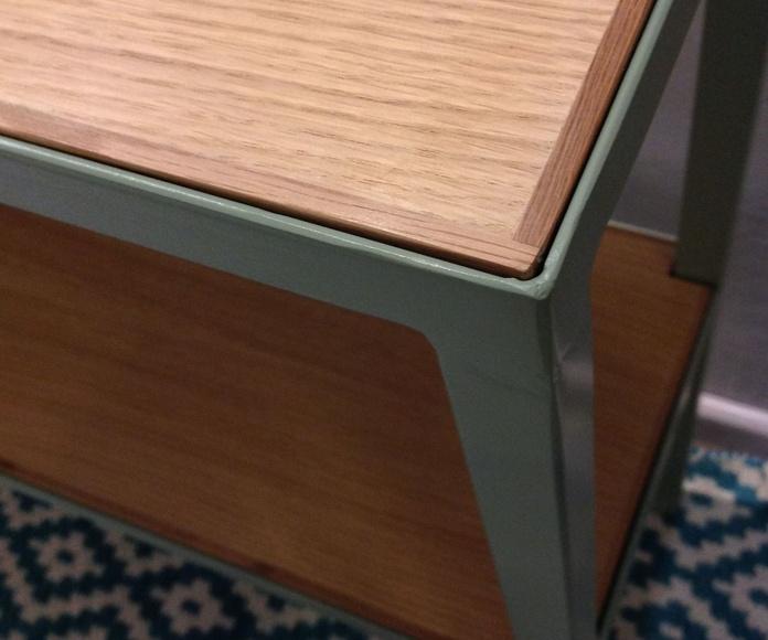 Consola hierro y madera: Catálogo de Ste Odile Decoración