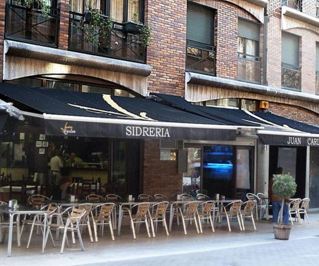 Una zona para fumadores en cafeterías y bares