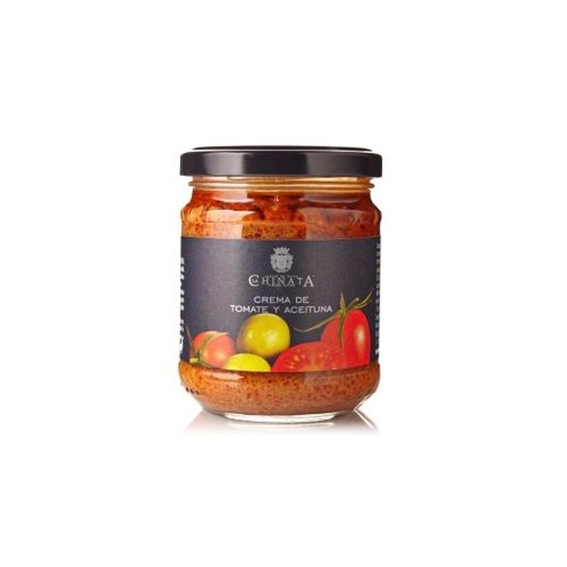 Crema de tomates y aceitunas: Selección de productos de Jamonería Pata Negra