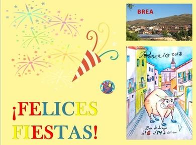 Fiestas en varios municipios vecinos!