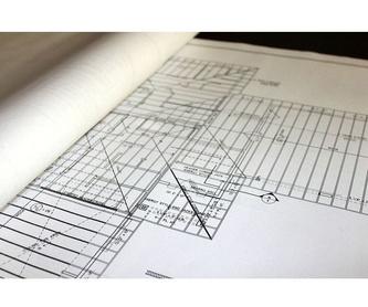 Rehabilitación de edificios: Servicios  de Arquitectura e Ingeniería Planta Gráfica Estudio