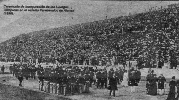 6 de abril comienzan los primeros juegos olímpicos de la era moderna