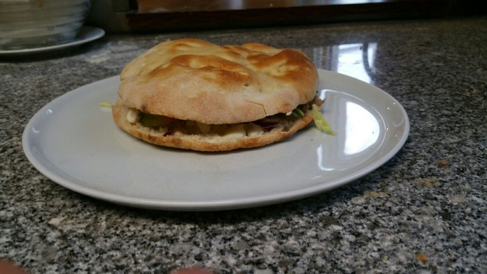 Focaccine: Especialidades de Restaurante la Piccola Italia SCQ