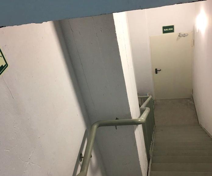 Escalera Salida de Emergencia
