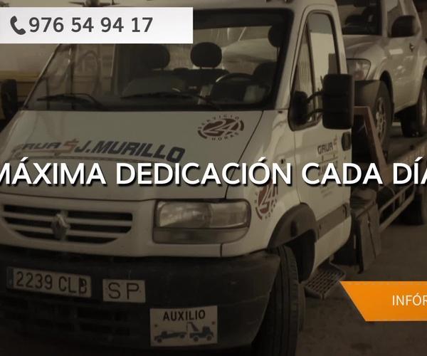 Servicio de grúas en Vizcaya | Grúas J. Murillo