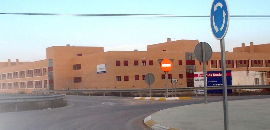 Obra en el centro de mayores de Hellín (Albacete)