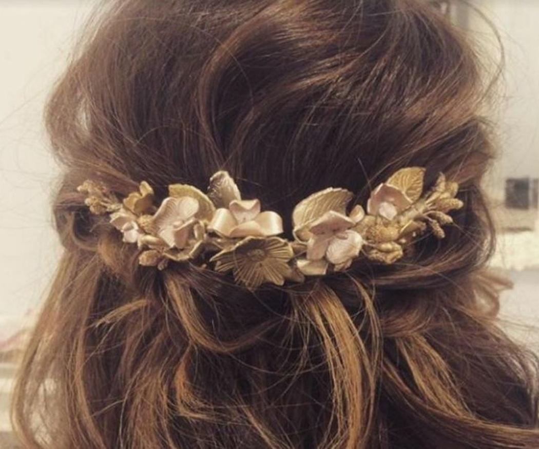 La posibilidad de usar complementos para tu pelo el día de tu boda