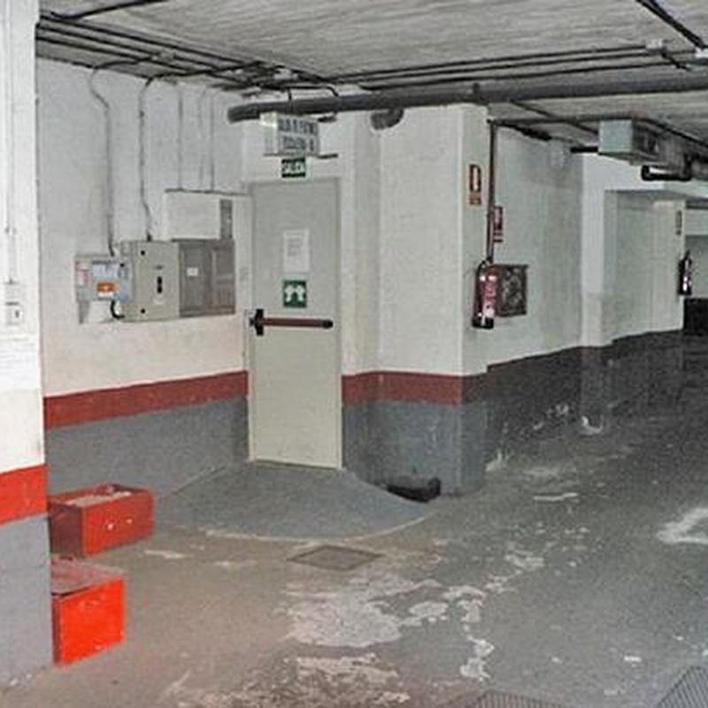 Rehabilitación y pavimentación de garajes: Servicios de Cosual Obras Y Servicios, S.L.