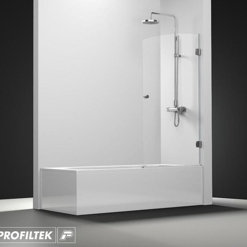 Mampara de baño Profiltek serie Newglass modelo NG-101