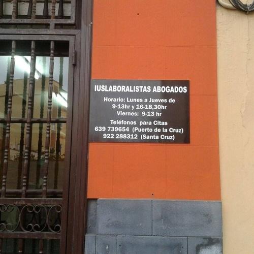 Abogado laboralista Tenerife