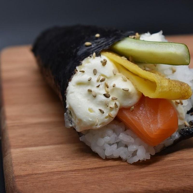 Temaki: Carta y Menús de Restaurante Tsuruma