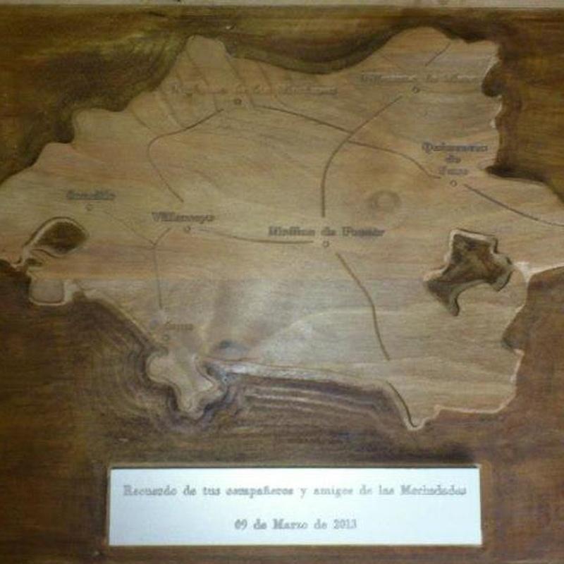 Mapa de la Merindades