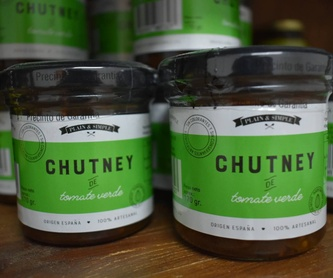 Pack Variado: Chutneys y Mermeladas de Plain & Simple