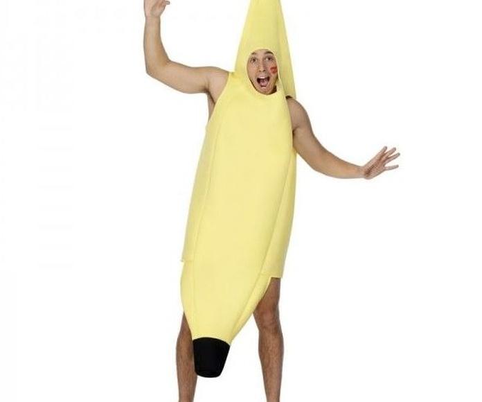 Disfraz plátano adulto