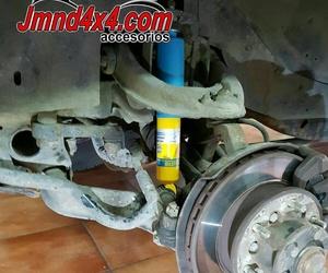 Venta y montaje de amortiguadores para 4x4