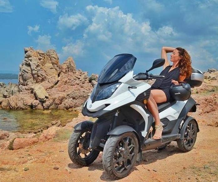 moto de cuatro ruedas en Alcobendas