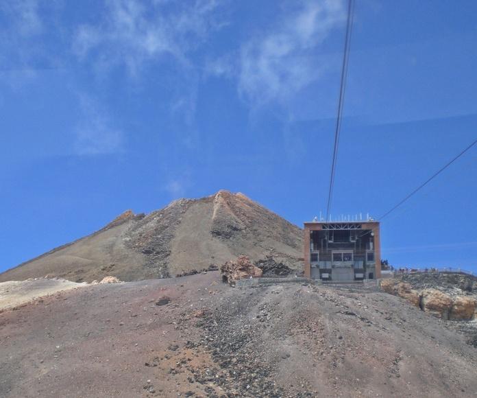 Trabajos en el Teide