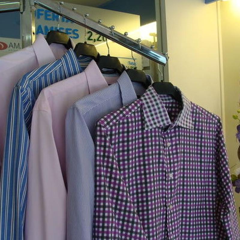 Limpieza de ropa de casa: Servicios de Tintoreria Bugaderia Ninot