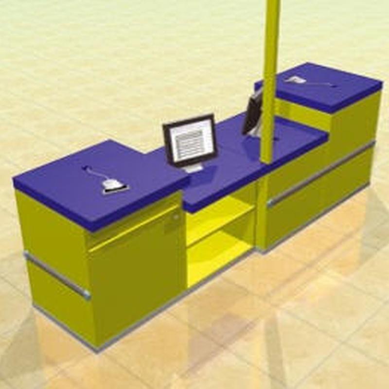 Muebles para cajas +TPU+balanzas: Productos de Registáctil