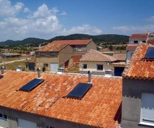 Instalación de placas solares térmicas