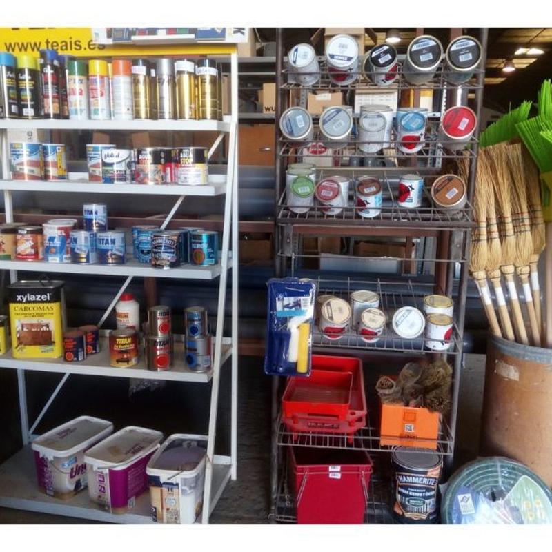 Pinturas decorativas e impermeabilizantes: Productos de Materiales del Cos