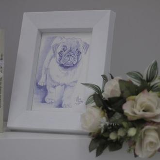 Hacemos retratos de  tu mascota para que nunca la olvides