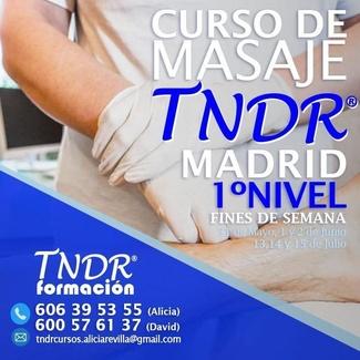31 DE MAYO COMIENZA LA PRIMERA EDICIÓN DE FORMACIÓN EN MASAJE TNDR 1º NIVEL
