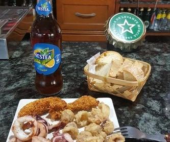 Bocadillos y sandwiches: Especialidades de Café Bar Restaurante El Remolino
