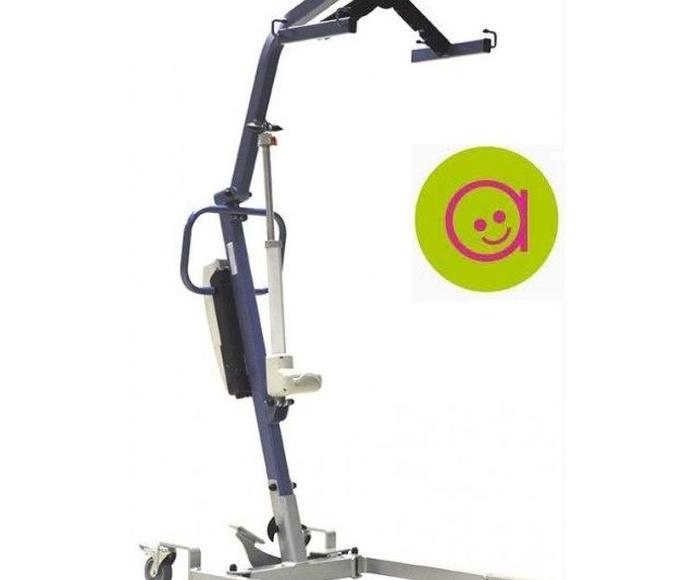 Grúa Elevadora Mini fLy : Alquiler de sillas de ruedas de Atemprana